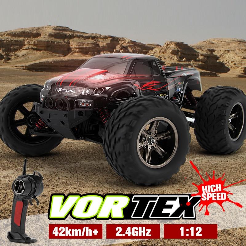 42 km/h RC Car 1/12 2WD Control remoto coche camión gran rueda todoterreno coche rc monstruo camión rc juguetes para niños mejores regalos
