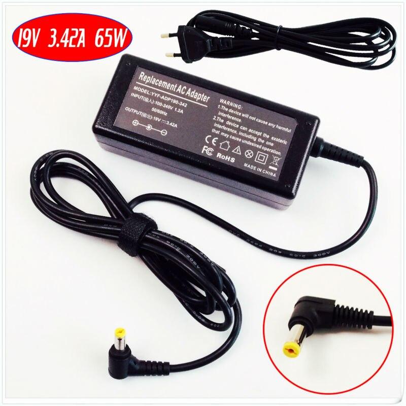 Para acer aspire 3810tzg 4810tg 4810tz 4810tzg 5335z 2920z carregador de bateria do portátil/adaptador ac 19 v 3.42a
