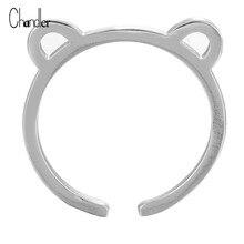 Chandler Open Cat Kitty Kitten Ring For Girl Women Gift Fashion Jewelry online shopping india sentiment