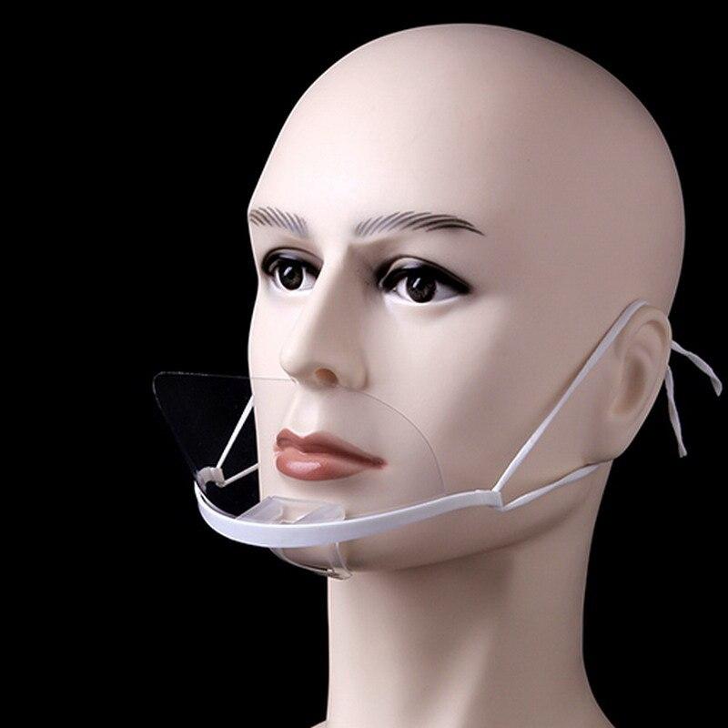 Envío Gratis, 10 máscaras de plástico transparente antivaho para cocinar, comida, restaurante, catering, hoteles, máscara de máscaras