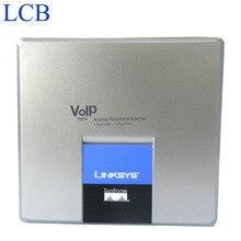 Linksys débloqué SPA3000 adaptateur de téléphone VoIP FXS FXO VoIP PTSN téléphone Internet Telefone adaptateur serveur 5 pcs/lot livraison gratuite