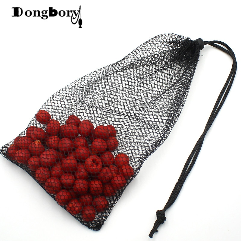 1 Uds carpa pesca Boilie aire seco malla cebo bolsas Boilies bolsa Mesa titular Boilies herramienta de fabricación señuelo bolsa accesorio equipo de aparejos