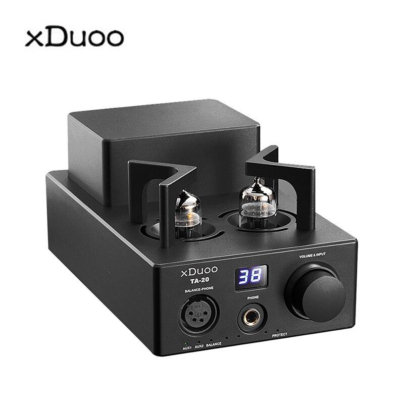 XDUOO TA-20 HIFI haute Performance équilibré classique 12Au7 Tube amplificateur audio stéréo avec XLR AUX