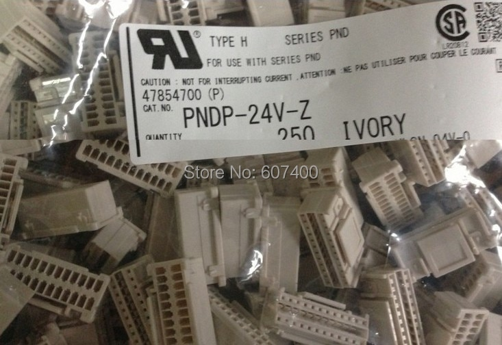 PNDP-24V-Z conn الإسكان pnd 2 ملليمتر 24POS ثنائي موصلات محطات إيواء 100% ٪ أجزاء جديدة ومبتكرة