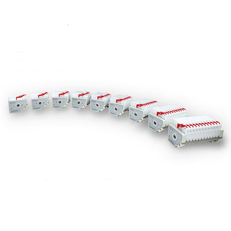 الولايات المتحدة الصلبة MC سلسلة متعددة قناة مضخة رئيس 0.0046-45 مللي/دقيقة ، 1/2/3/4/5 قنوات (اختياري)