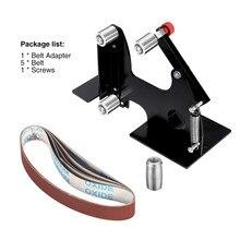 M10/M14 hierro eléctrico amoladora de ángulo lijado cinturón adaptador 100/115 125 accesorios de lijado máquina de pulir de la máquina de pulido