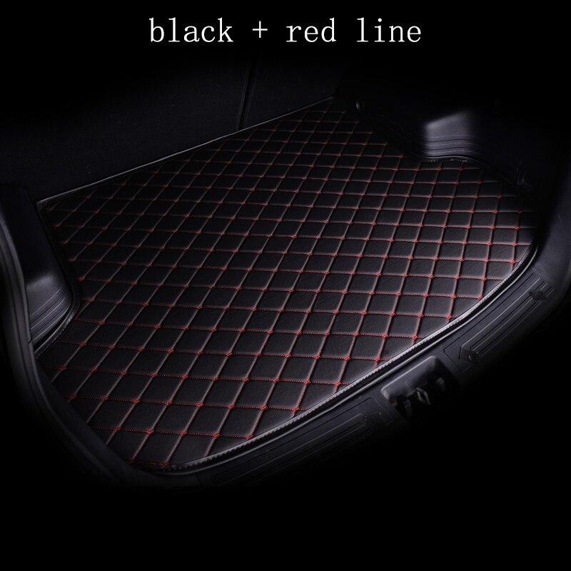 kalaisike custom car mat trunk for Volvo All Models s60 v40 xc70 v50 xc60 v60 v70 s80 xc90 v50 c30 s40 custom cargo liner