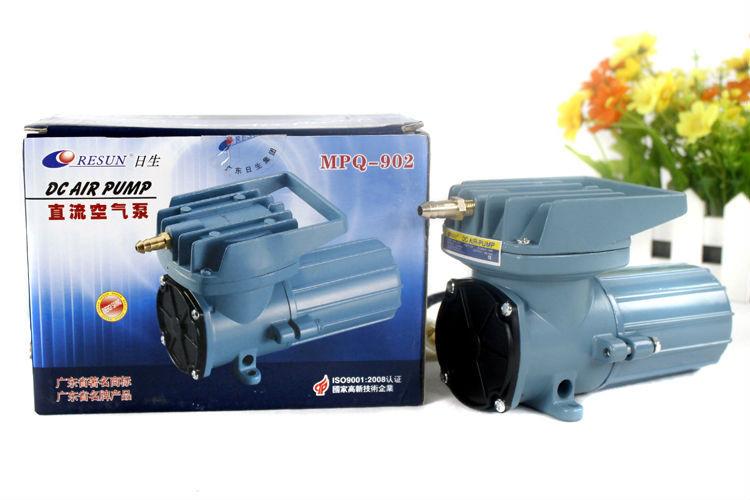 Nuevo Resun MPQ-902 MPQ DC 12V 1,2 A 18W 2280L/Hr 602GPH bomba de aire accesorios para acuarios envío gratis