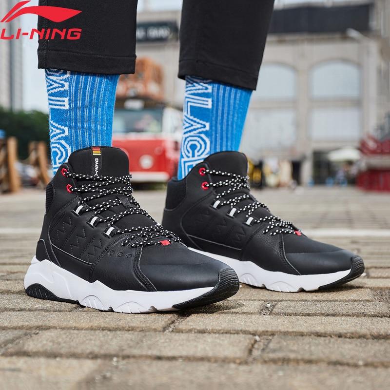 Li-Ning Men LN PIONEER Lifestyle Shoes Breathable Warm Fleece Wearable LiNing li ning Comfort Sport Shoes Sneaker AGCN125 YXB235