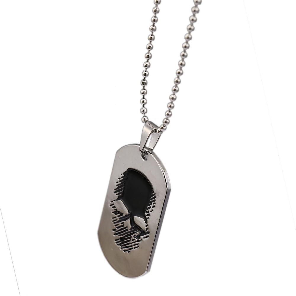 Ожерелье с подвеской HSIC Ghost Recon wildland, подвесное ожерелье с подвеской в виде собачьих тегов для подарка на день папы, HC12228