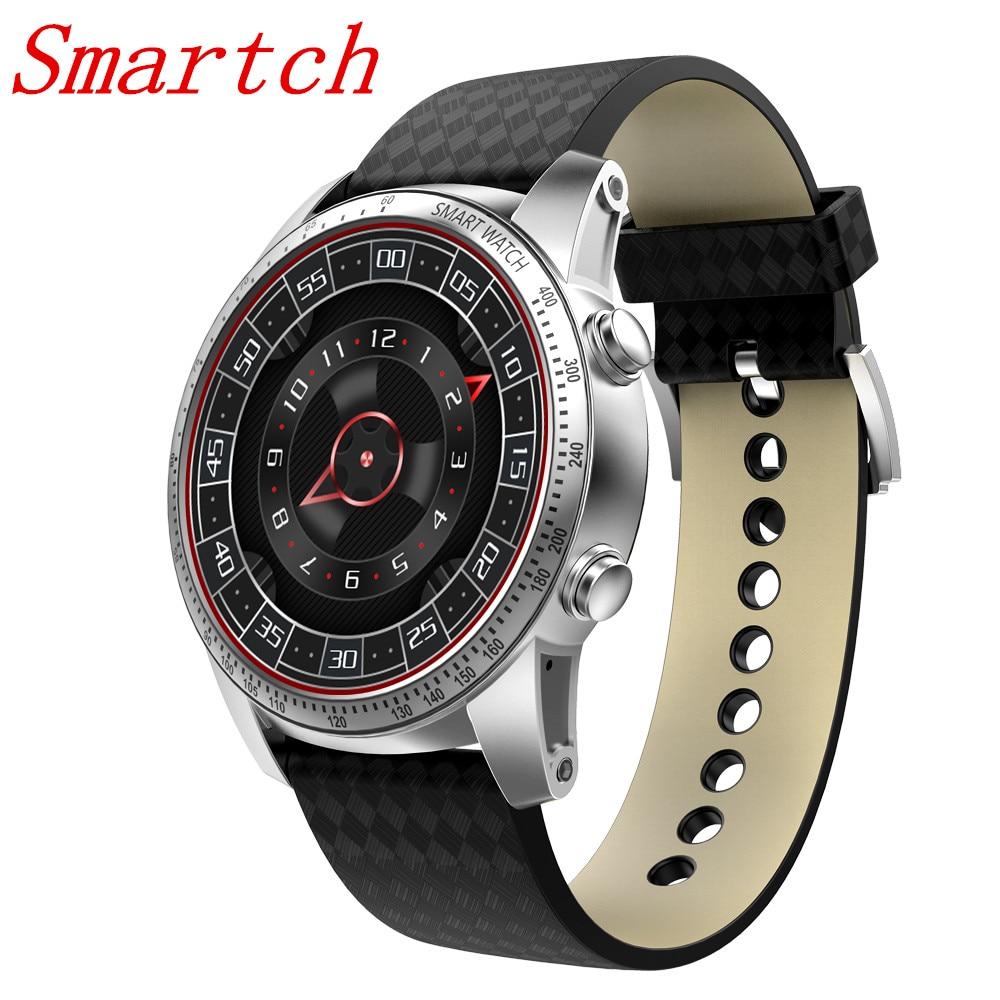 EnohpLX KW99 reloj inteligente Android 5,1 Teléfono de muñeca MTK6580 512 MB + 8 GB soporte tarjeta SIM GPS WiFi Smartwatch para Android IOS