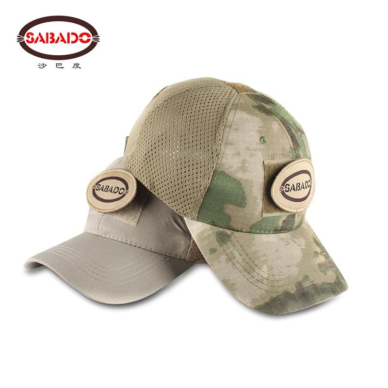 Hunting Fishing Sport Tactical Cap Combat Gear Tactical Headwear Training Tactics Camo Baseball Cap Men's Army Hats Adjustable