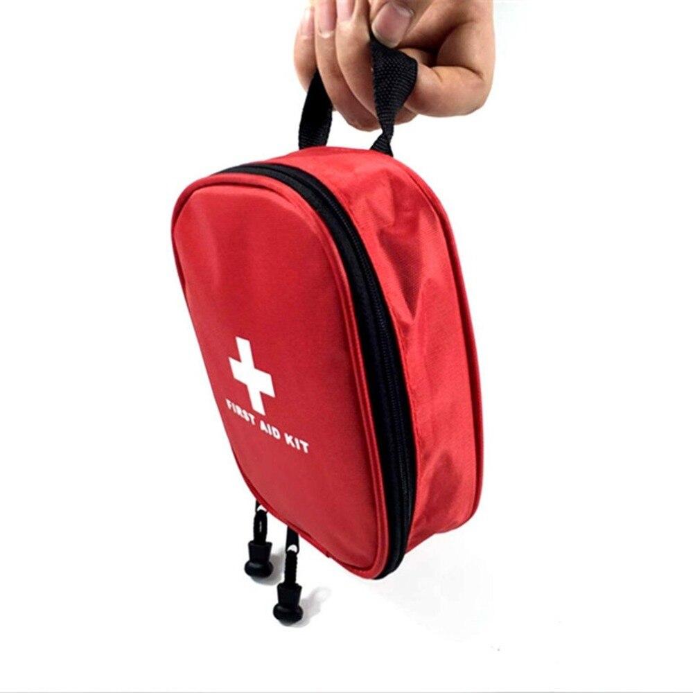 17 unids/set tamaño compacto bolsa de supervivencia de emergencia al aire libre Camping viaje coche Primeros Auxilios bolsa médica Kit de supervivencia caliente