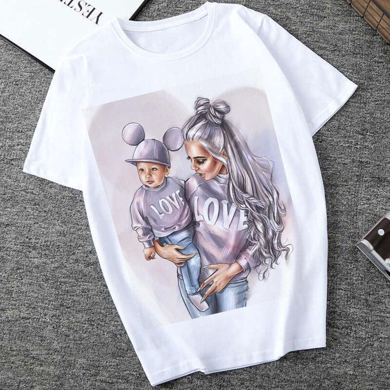 Женская футболка с принтом Love Super Mom, повседневная комфортная Футболка для беременных, лето 2019