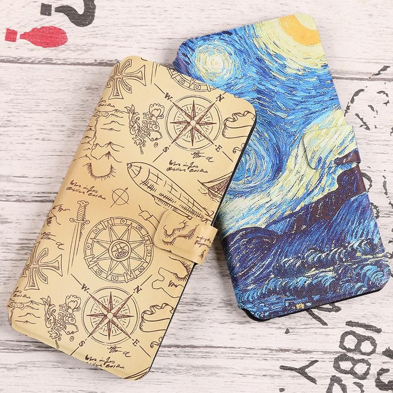 Coque For Sony Xperia X X Compact mini F5121 F5122 F5321 Cover PU Flip Wallet Fundas Painted cartoon Cute Phone Bag Cases Capa