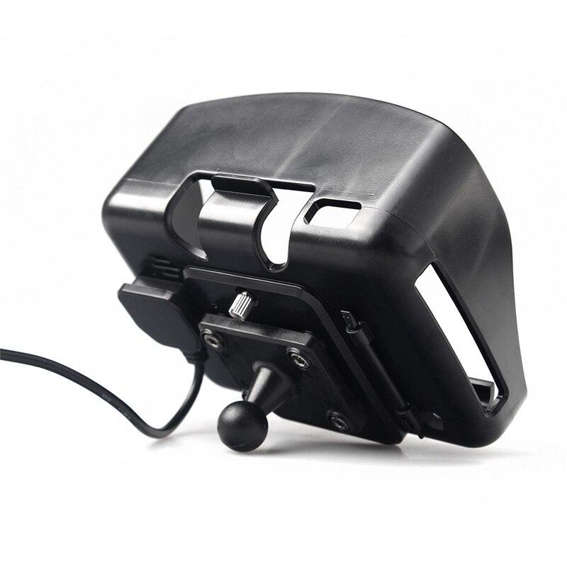Купить с кэшбэком Fodsports Motorcycle GPS Accessories Motorcyclist Navigator Parts Holder Suit For 4.3 Inch Motorbike GPS Navigation