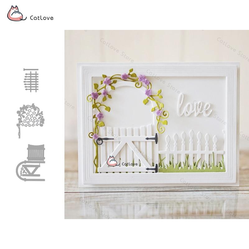 Garden Series Metal Cutting Dies Stencils For DIY Scrapbooking Album Paper Card Decorative Craft Embossing Die Cuts New 2019