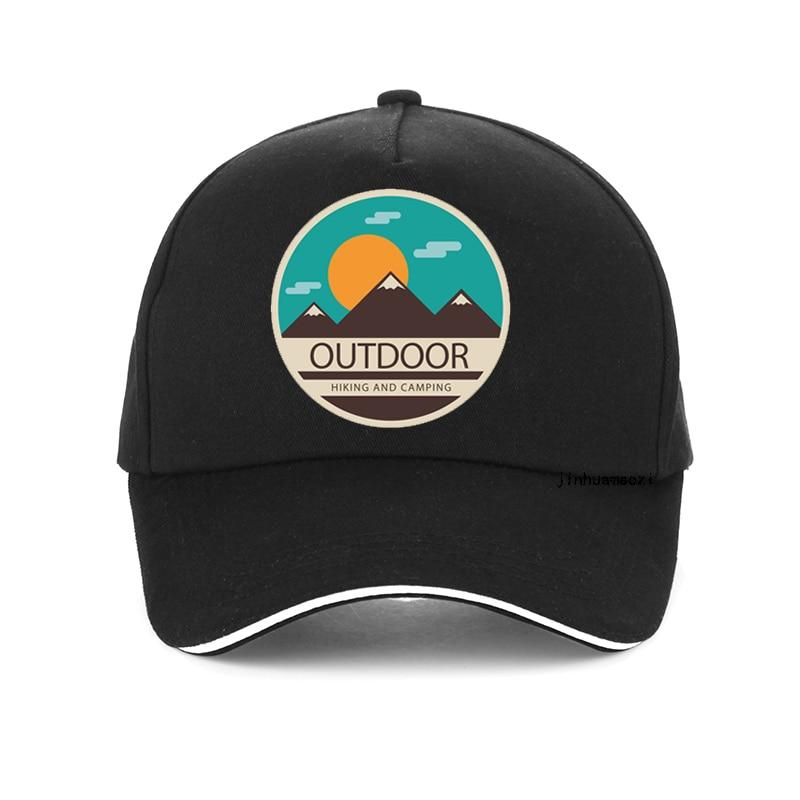 summer outdoor hiking and camping cap Unisex Cartoon print Baseball Cap 100%Cotton High Quality adju
