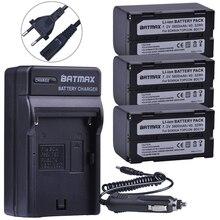 Batmax 3Pc 5600mAh BDC70 Batterie + Ladegerät für sokkia CX FX insgesamt station topcon ES OS insgesamt station