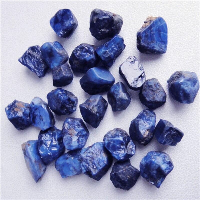 ¡Promoción! Zafiro, piedras preciosas en bruto, muestras minerales, zafiro crudo de la mina de zafiro más grande de China, certificado GIC