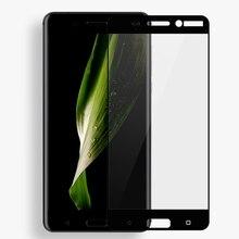 GerTong Pleine Couverture En Verre Trempé Pour Nokia 7 X5 Plus 6 2 5 2018 1 X6 3 8 7 5 2 Protecteur Décran Avant De Sécurité Film