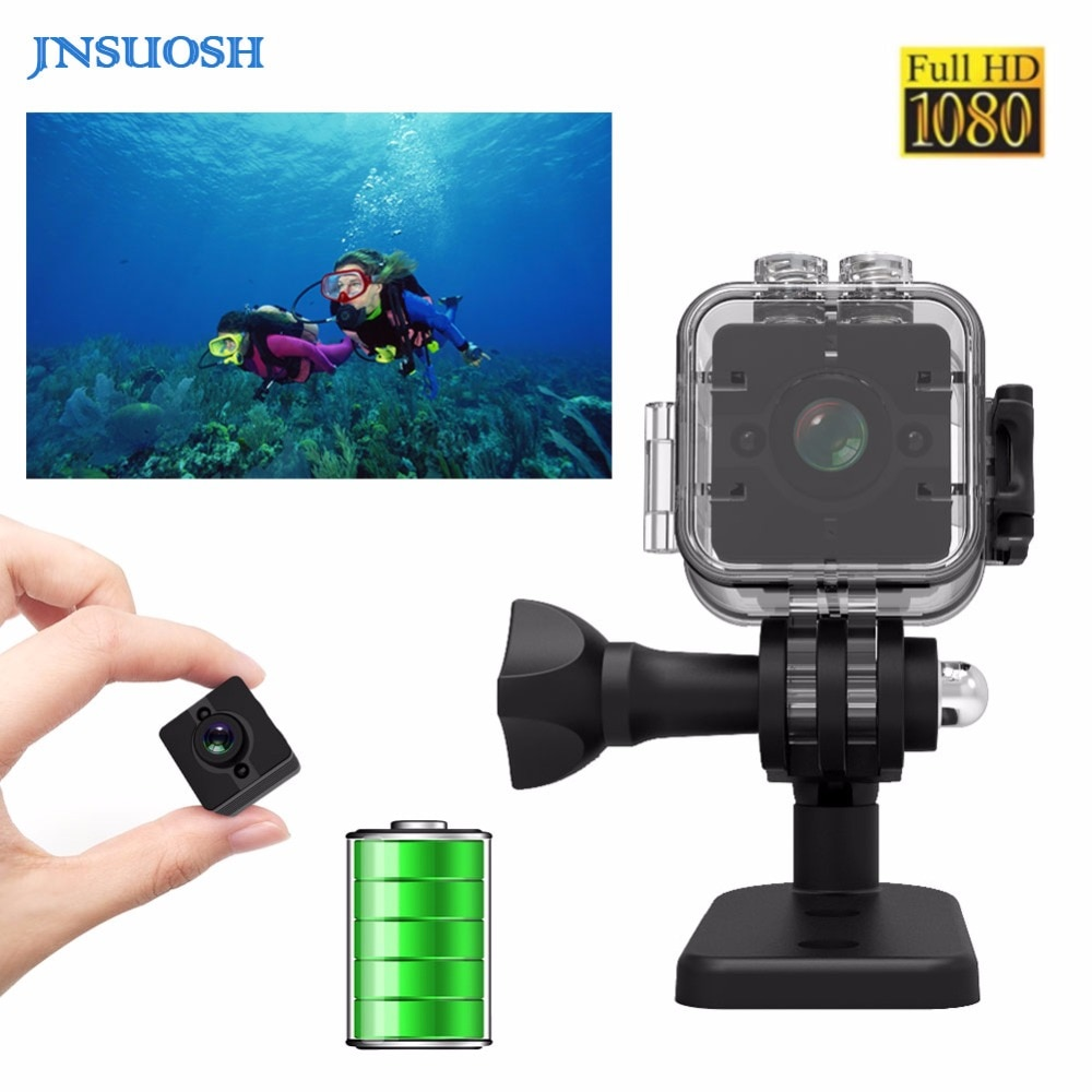 SQ12 HD coche Sensor CMOS mini cámara micro Cámara impermeable MINI videocámara pequeña cámara DVR Mini cámara de video PK SQ10 SQ11