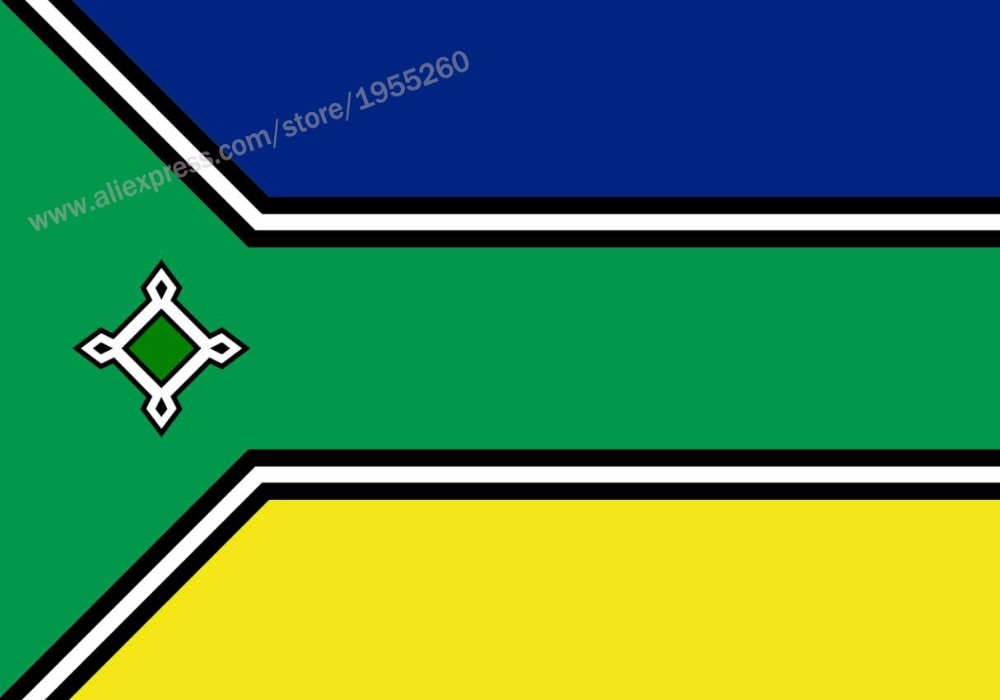 Bandera de AMPA 3x5 pies 90x150 cm Brasil banderas del Estado brasileño...
