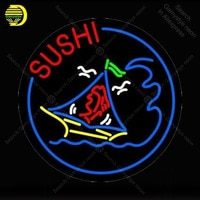 Sushi Neon Bulbs sign Neon sign Restaurant room Handcraft hotel Lamp food store display Custom neon Letrero Neon enseigne lumine