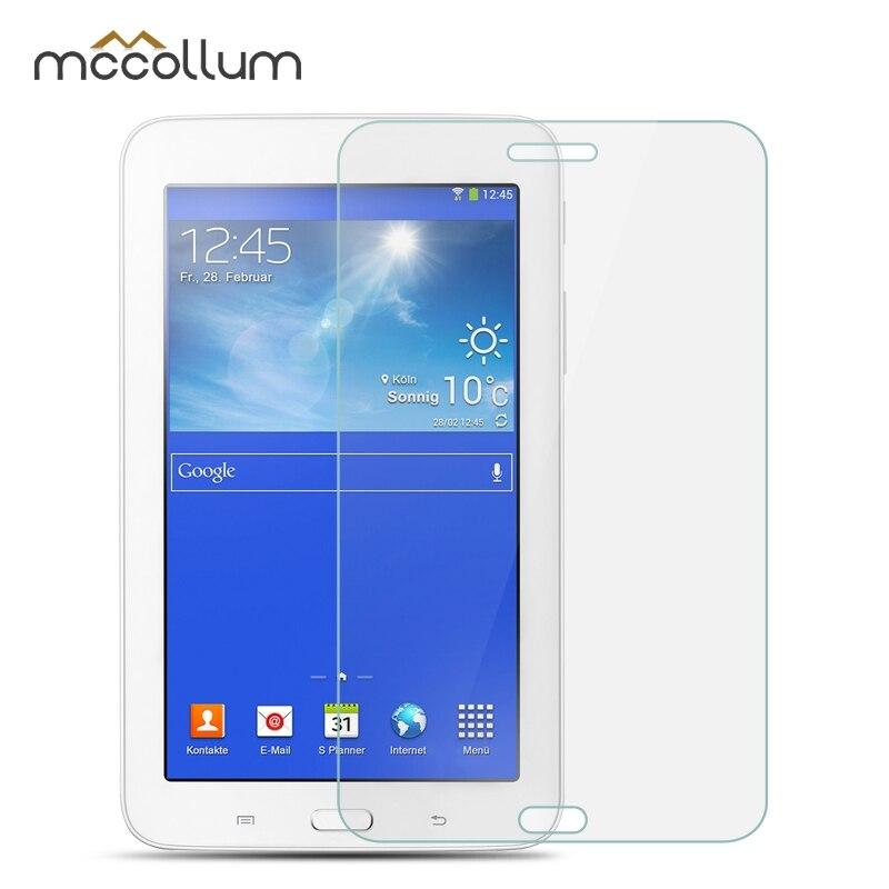 Vidrio templado para Samsung Galaxy Tab 3 Lite 7,0 4 10,1 4 8,0 P5200 T210 T110 T530 230 T330 S6 T860 S5E 10,5 T720 Tablet Protector de pantalla