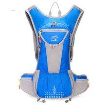 Plein air 15L sport en cours dexécution sac dhydratation adulte sac à eau léger sacs à bandoulière randonnée cyclisme course à dos accessoires