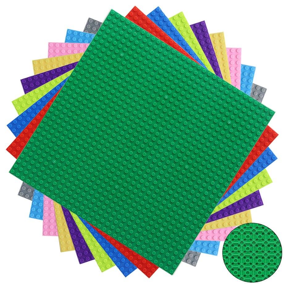 Городская уличная Базовая пластина 32x32 точек Базовая пластина для маленьких кирпичей Строительная пластина для строительных блоков строительство DIY игрушки для детей