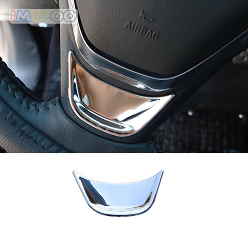 Dirección de la rueda emblema cubierta de moldeo por 2017, 2018 de 2019 CHEVROLET MALIBU EQUINOX Accesorios Estilo de coche