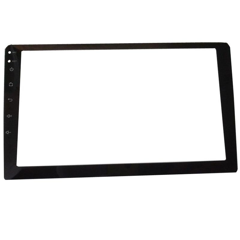 Carro de vidro temperado película protetora adesivo para 9 polegada rádio estéreo dvd gps toque tela lcd completa