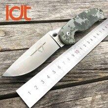 Ldt Rat Model 1 Zakmes AUS-8 Blade G10 Handvat Tactische Messen Utility Outdoor Camping Survival Zakmes Edc Gereedschappen