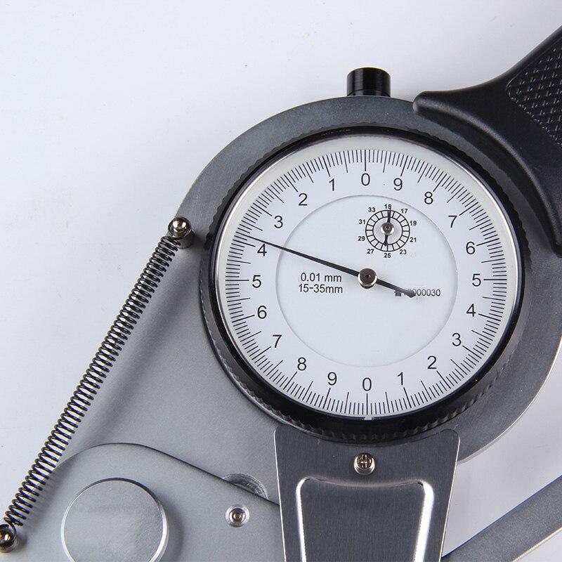 Caliper com Bitola Medir a Adesão Alta Qualidade Exatidão Dentro Dial Caliper Medidores 95-115mm Calibre Métrica Metalúrgica