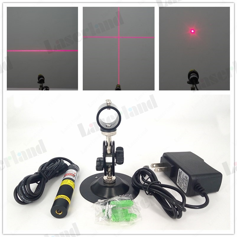 Red Dot line Cross beam 10mW 50mW 100mW 150mW 200mw 648nm 650nm laser module laser marking positioni