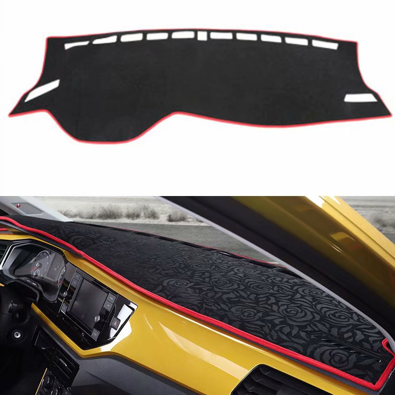 For VW Volkswagen Polo Hatchback MK6 2019 2020 Car Styling Covers Dashmat Dash Mat Dashboard Cover P