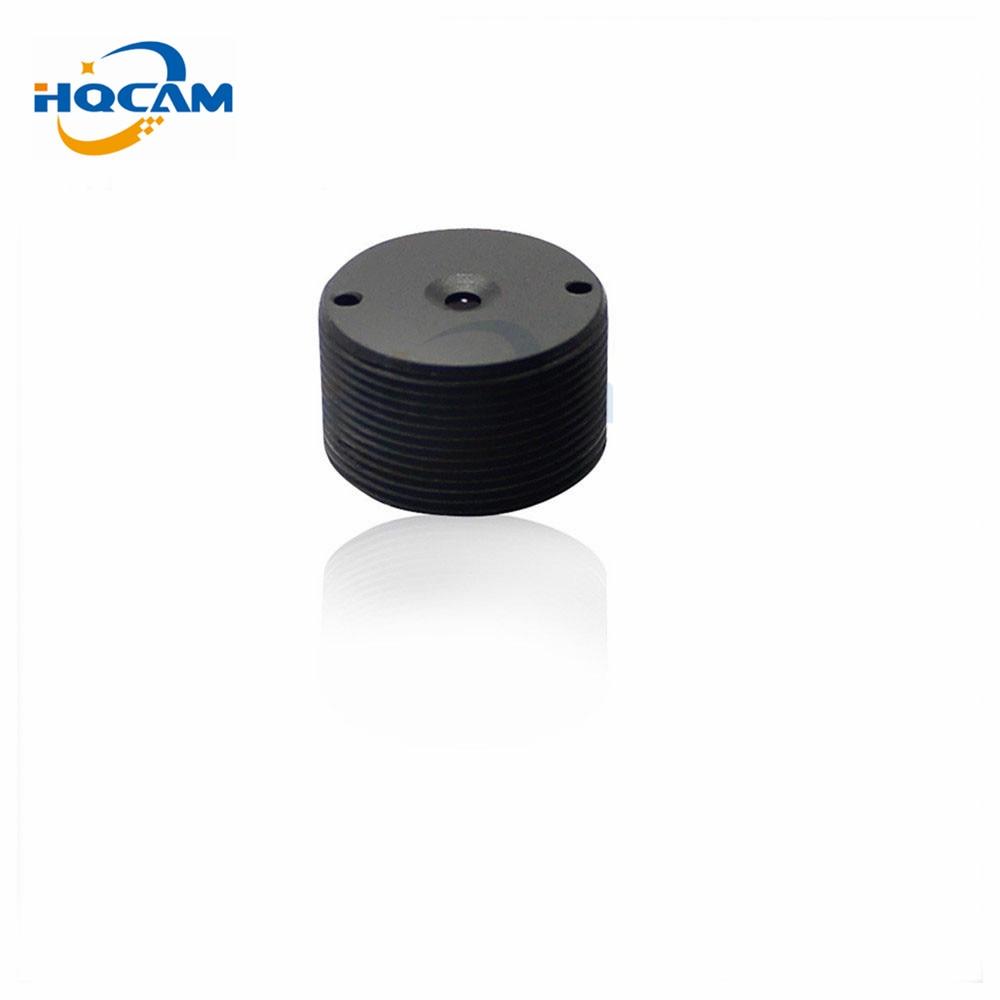 HQCAM 6mm montaje de lente 60 grados para cámara de seguridad cctv envío gratis de M12x0.5 lente plana cónica