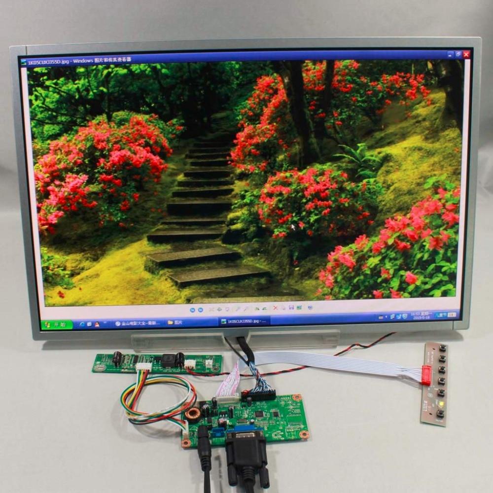 Entrada VGA de placa controladora LCD RT2270C-A y 19 pulgadas M190CGE-L20 M190PW01 V8 1440x900 LCD panel