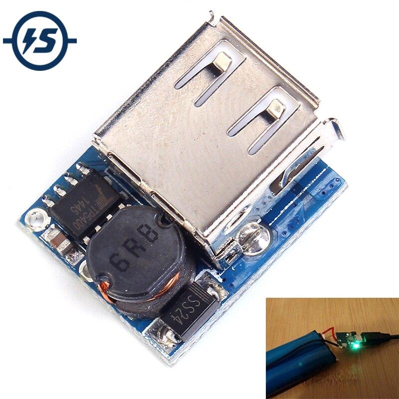 Плата зарядного устройства Power Bank 5 в для самостоятельного изготовления литиевых батарей, повышенная Защитная плата, модуль питания Micro USB Li-Po Li-Ion 18650