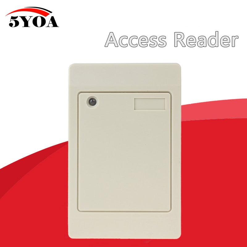 5YOA Водонепроницаемый 125 кГц RFID Бесконтактный смарт-считыватель карт доступа Weigand IP65 EM ID