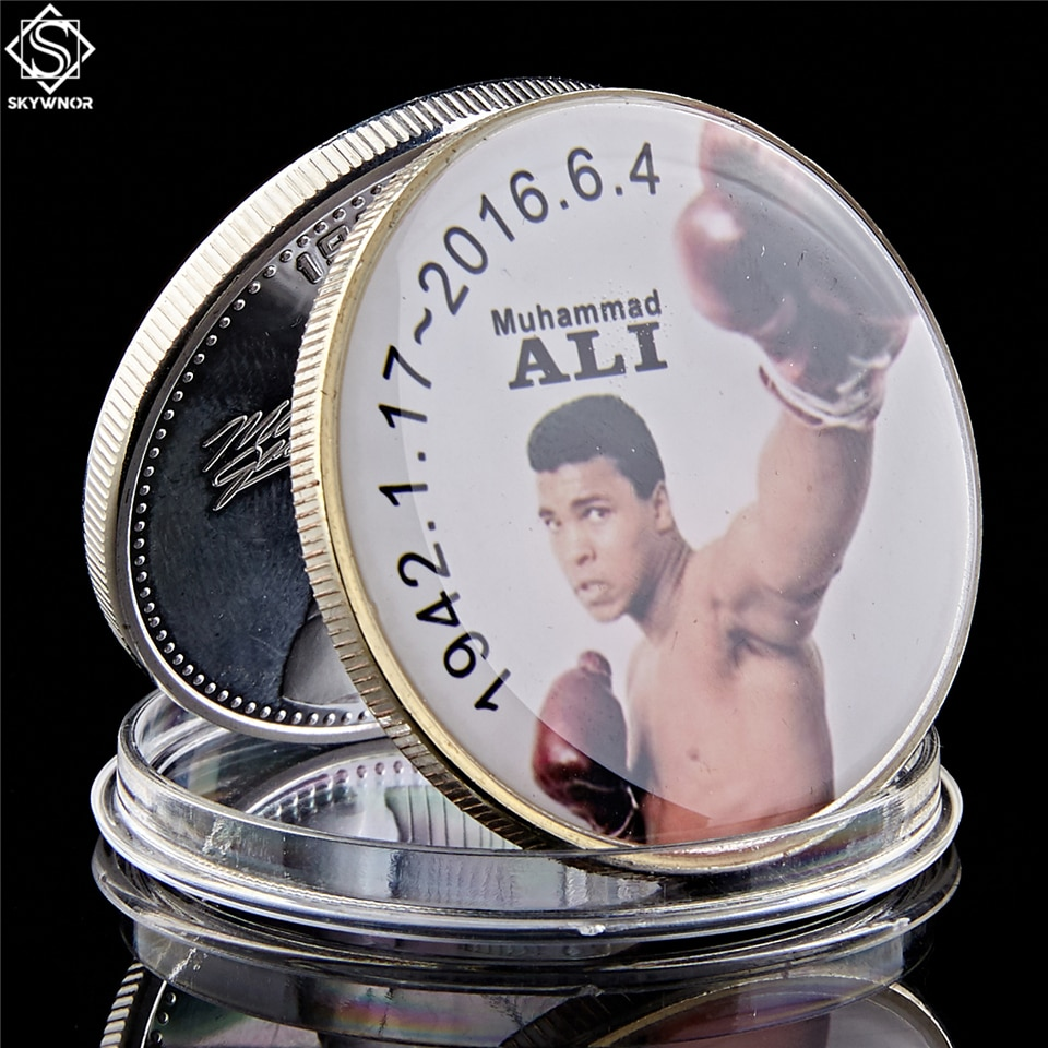 The Sportman of The Century Muhammad Ali Coin 1.57*0.12 Collectible Coin In Acrylic Case ali naveed shafi bushra ibrar muhammad tourism industry in milieu of recent militancy in swat pakistan