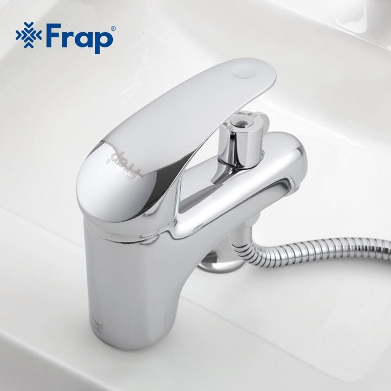 Frap Messing Body Materiaal Wc Wastafel Kraan Met Douchekop Installeren Kraan Accessoires Compleet F1221