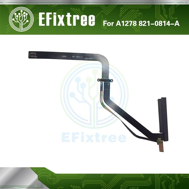 "100 Uds nuevo A1278 Disco Duro Cable Flex 821-0814-A para MacBook Pro 13,3 ""A1278 HDD Cable año 2009 de 2010 MB990 MB991 MC374 MC375"