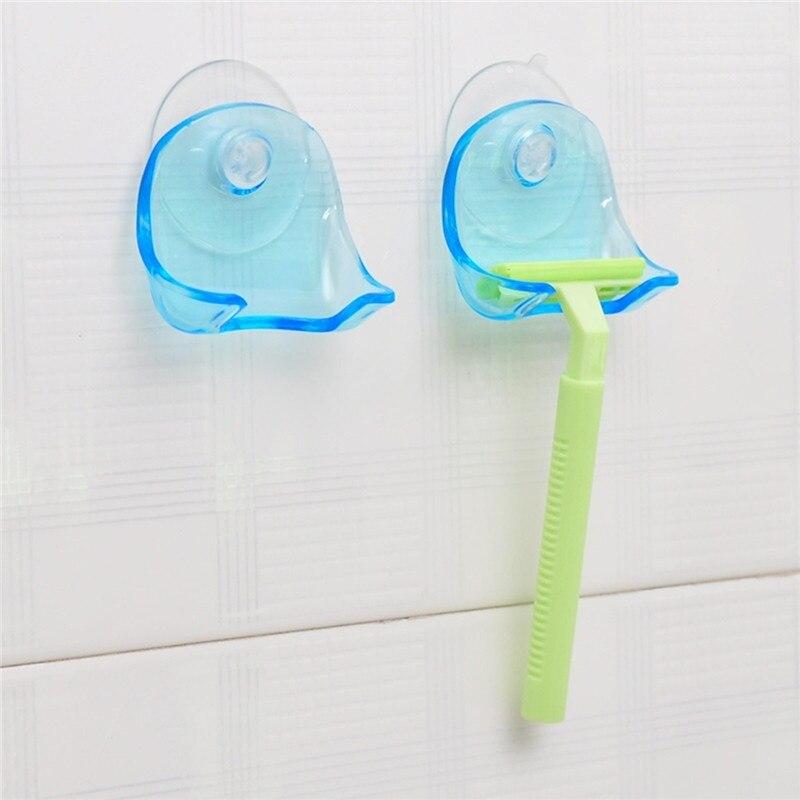 חמוד אביזרים לבית קיר מוצצי תער Stand מברשת גילוח כובע מחזיק רחצה מקלחת תער בעל טוב, 1PC