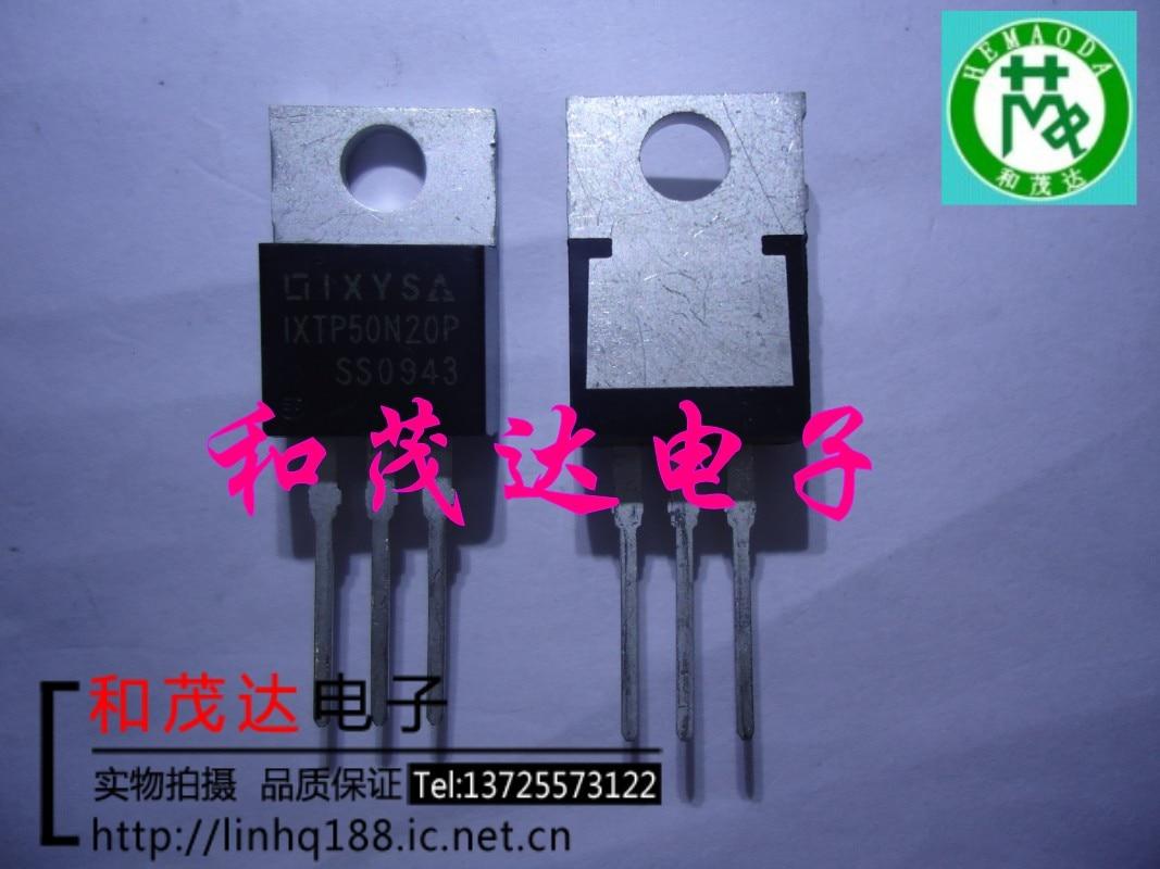 5 piezas/IXTP50N20P-220 IXYS TP50N20P 200V50A to220