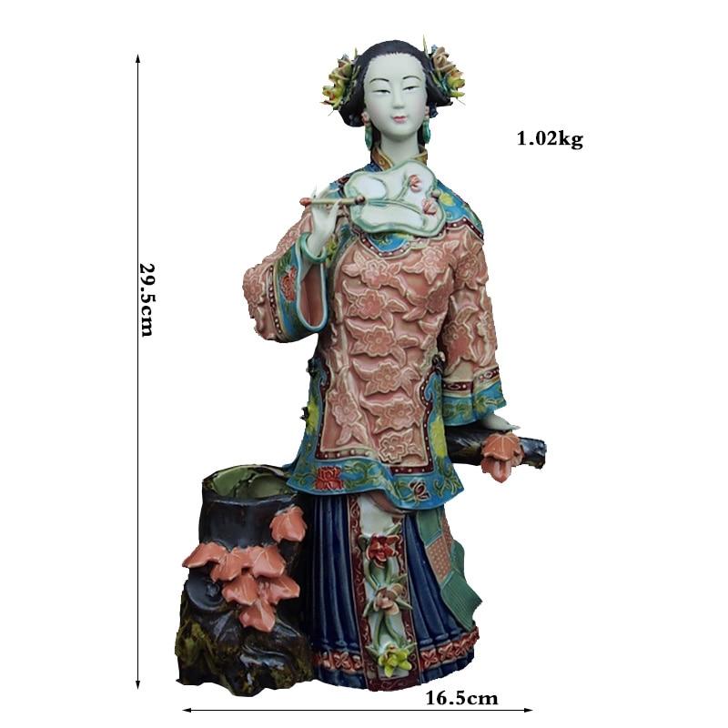 Ángel Navidad Tradicional Chino Pintado Porcelana Venta Figurilla Cerámica Ornamento Arte Hogar Decoración Colección Regalo