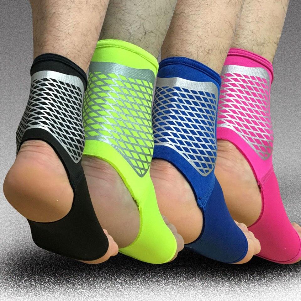 1 par deporte tobillo apoyo elástico alta protección deportes tobillo equipo seguridad correr baloncesto tobillo soporte