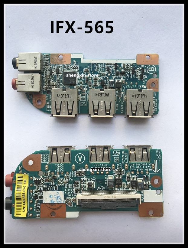 Para Sony Vaio VPC EA EB VPCEA VPCEB VPC-EA VPC-EB IFX-565 IFX565 de Audio USB tarjeta de sonido USB de Audio DB M960