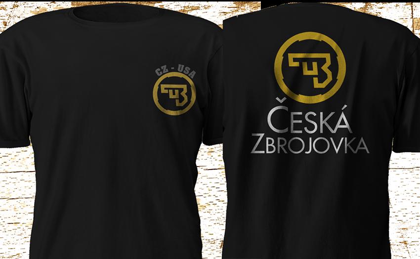 2019 nueva CZ USA Ceska Zbrojovka armas de fuego Logo negro camiseta S-5XL